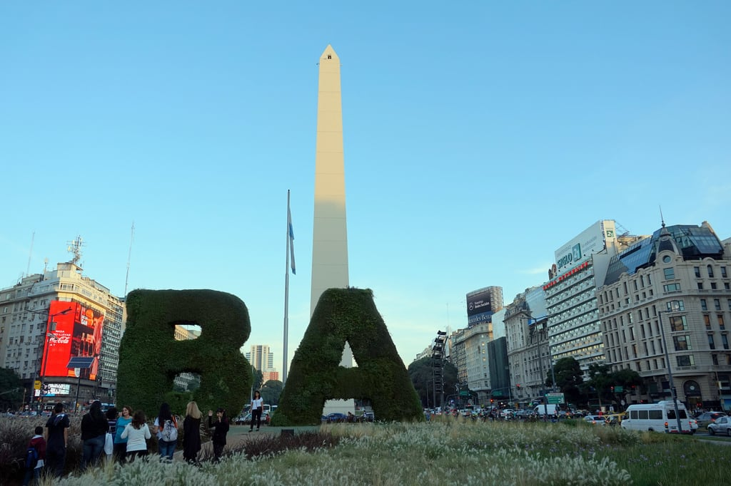 Bild von Obelisco. buenosaires argentina southamerica city tourist attraction buildings urban obelisco obelisk