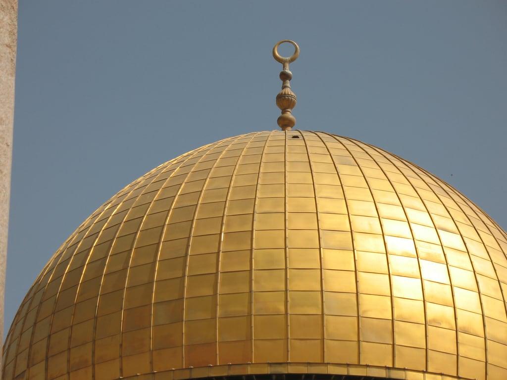 Изображение Купол Скалы вблизи Old City. rock temple gold israel site palestine muslim islam jerusalem mosque mount holy reflect dome quarter pilgrimage occupied oldcity opt views50 views75 views25 3264x2448 hoyasmeg