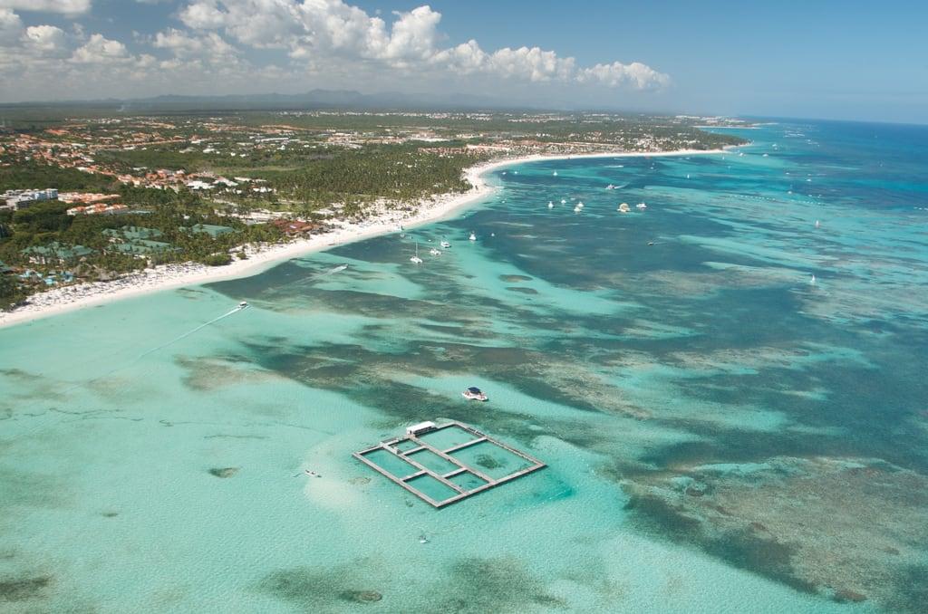 Imagen de Bavaro Surf Beach Playa con una longitud de 3111 metros.
