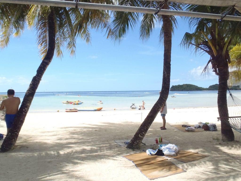صورة Trinchera Beach قرب Hagåtña Village. sea guam oceanjetclub μtough6020