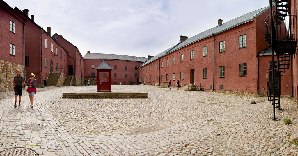 Image of Varberg Fortress. travel nikon sweden fortress varberg 2011 fästning d700 kartläsarn kartlasarn göranhöglund nikkorafs14g