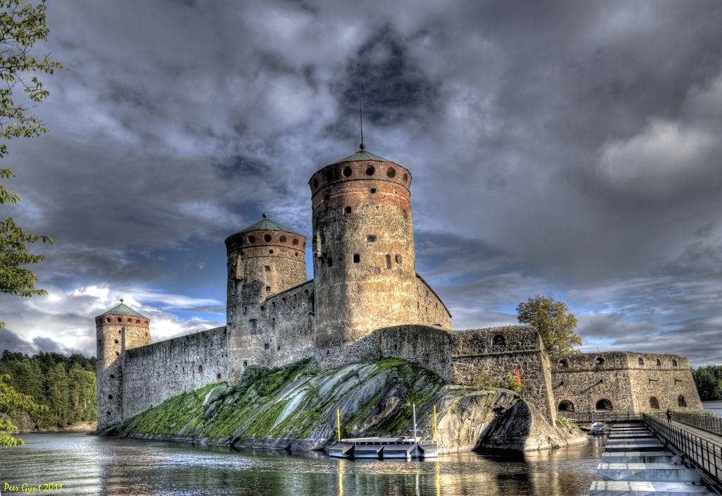 Image of Olavinlinna. touraroundtheworld blinkagain