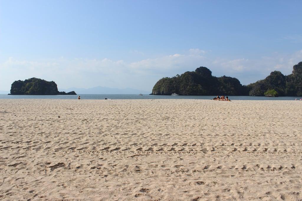 Beach 1088 Méter hosszú strand képe.