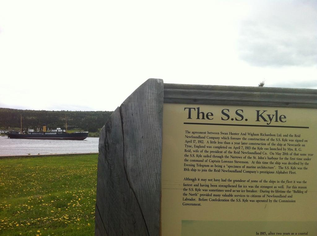 S.S. Kyle の画像. canada newfoundland harbourgrace