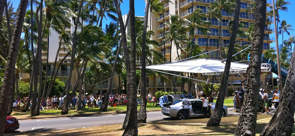 Bild av Kaimana beach nära Honolulu. ocean usa film beach television 35mm movie hawaii tv waikiki oahu honolulu filmmaking panavision hawaii50 jaimansson