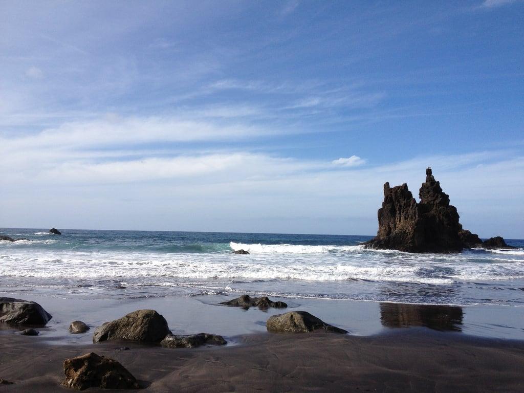 Image de Playa de Benijo près de Taganana. tenerife espagne ilescanaries santacruzdeténérife