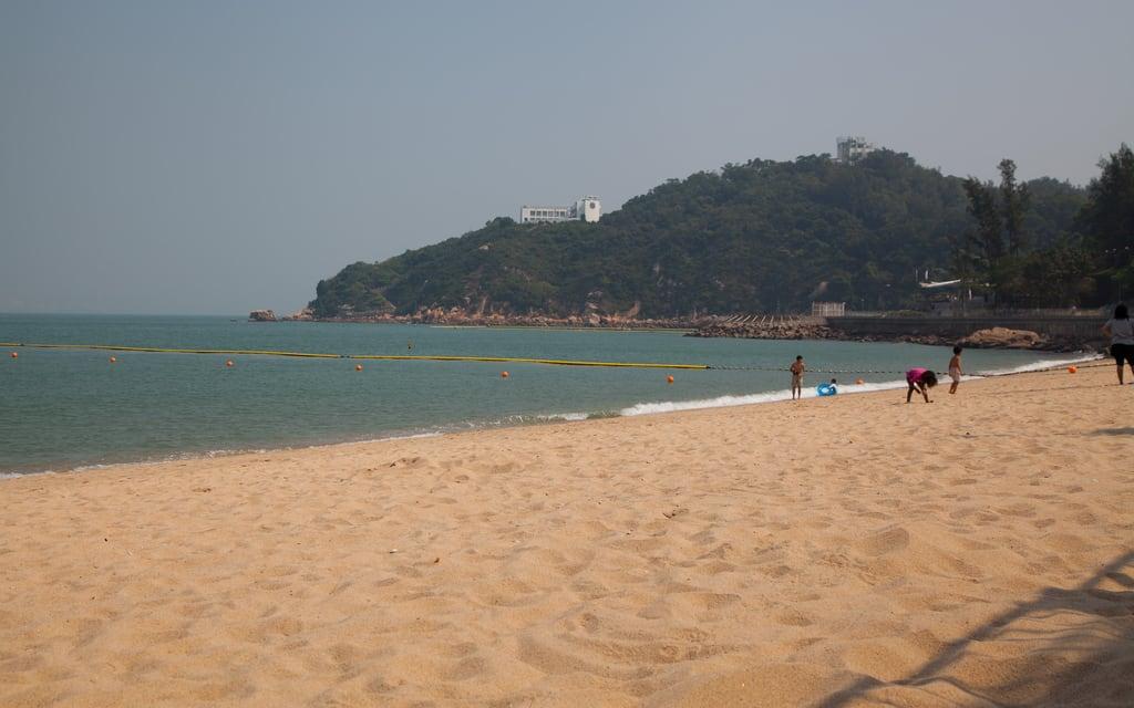 Bilde av Tung Wan 東灣 Cheung Chau Tung Wan Beach. beach hongkong newterritories cheungchau 長洲 tungwanbeach 東灣泳灘