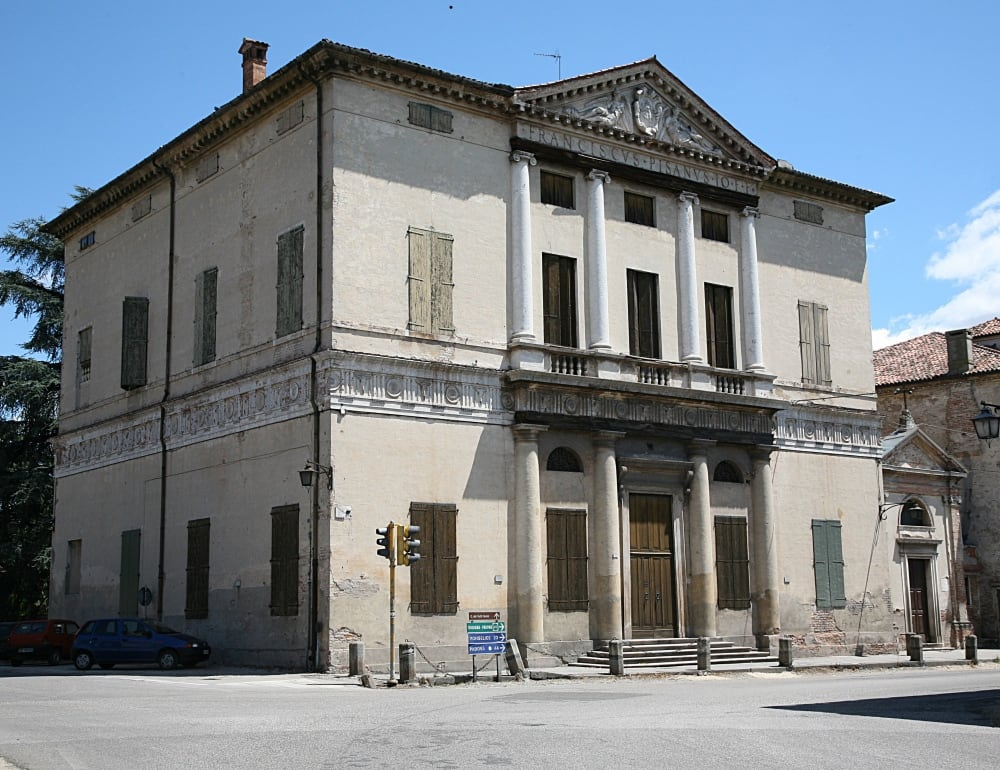 Villa Pisani の画像. architecture veneto montagnana andreapalladio villapisanimontagnana