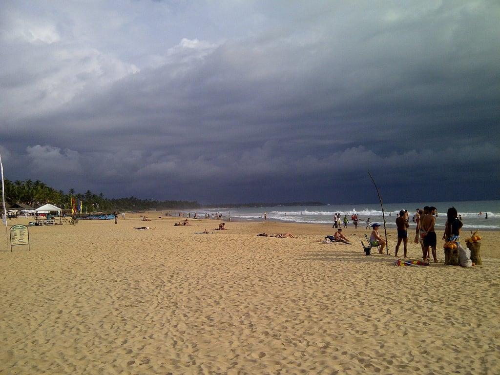 Image of Hikkaduwa Beach. hikkaduwa