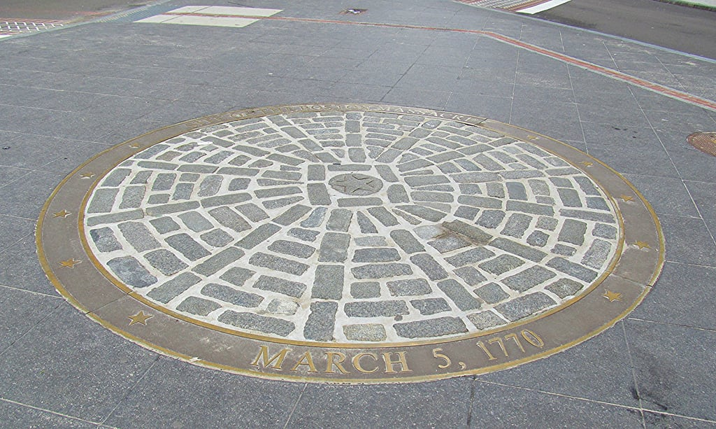 Image de Boston Massacre Site. boston circle freedomtrail bostonmassacre americanhistory march51770