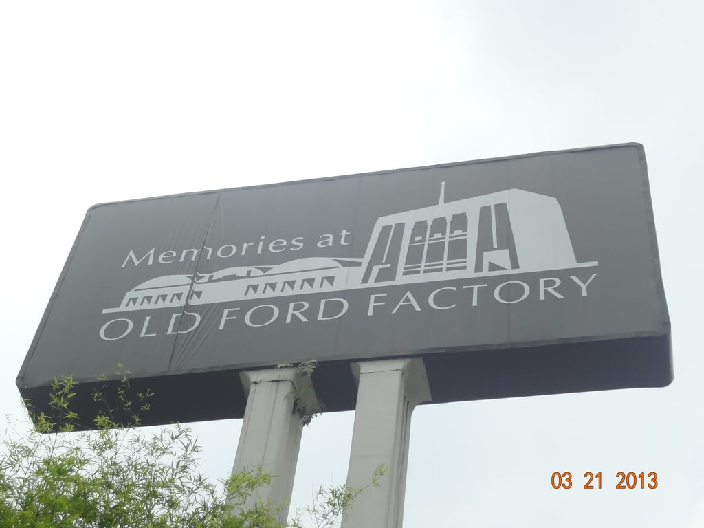 Image of Memories at Old Ford Factory. world old 2 two ford sign singapore war factory memories battle ii restored british surrender bukit timah
