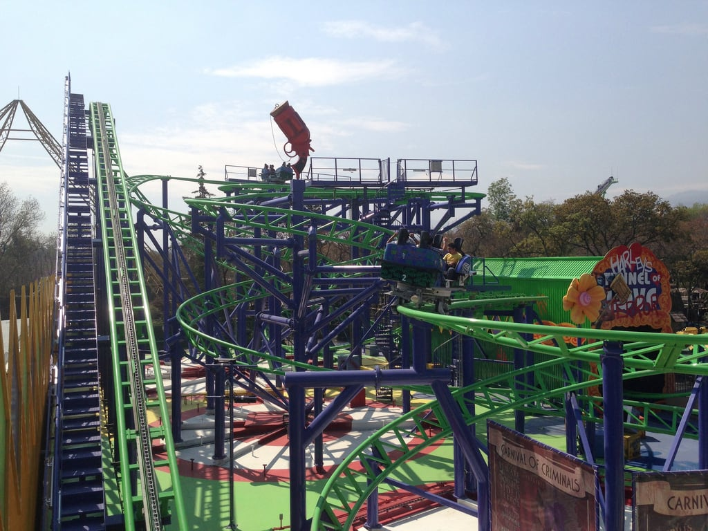 Imagine de Six Flags México. joker pandemonium spinningcoaster gerstlauer sixflagsmexico tonyhawksbigspin uploaded:by=flickrmobile flickriosapp:filter=nofilter
