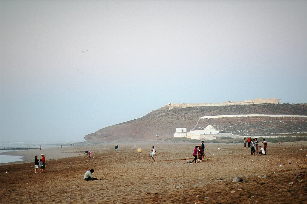 Imagine de Plaja cu o lungime de 3742 m.