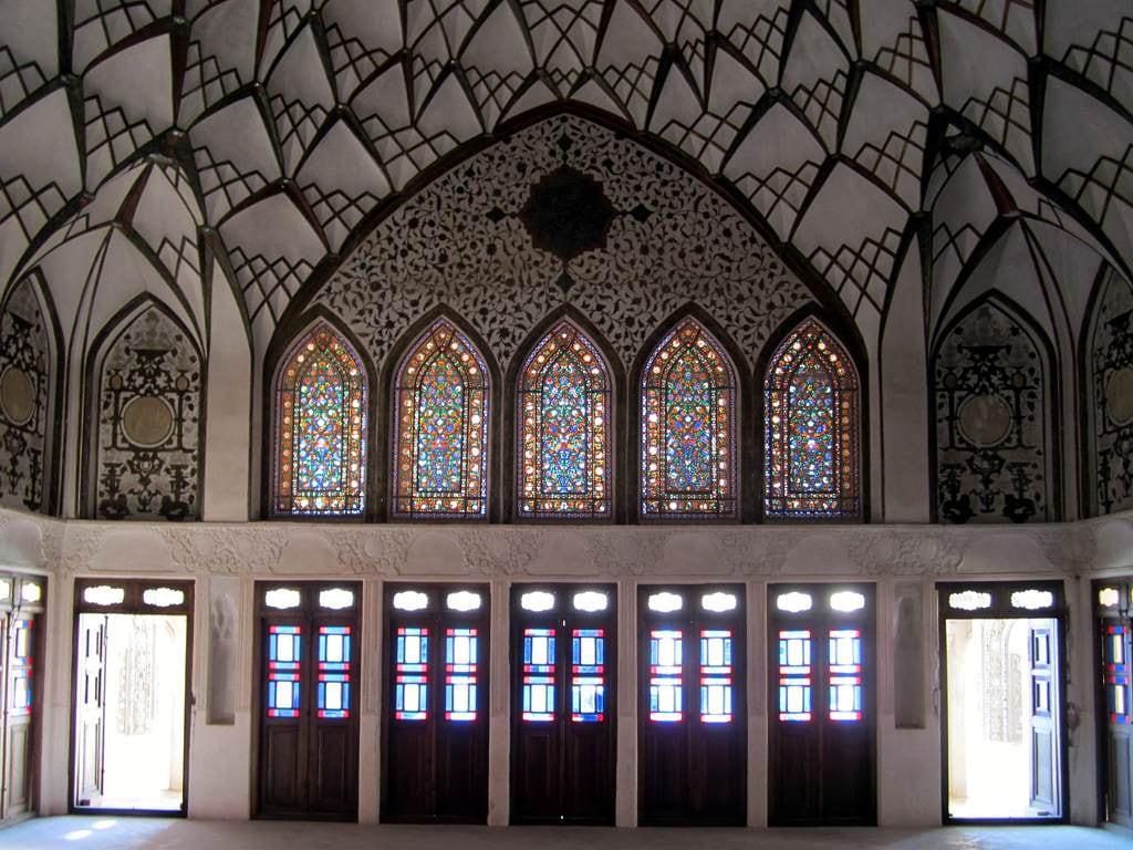 Image of Tabatabaei House. iran kashan