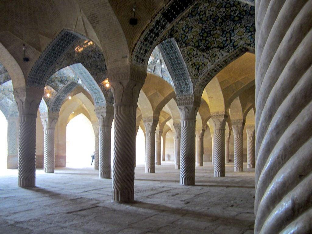 Image of Vakil Mosque. iran shiraz