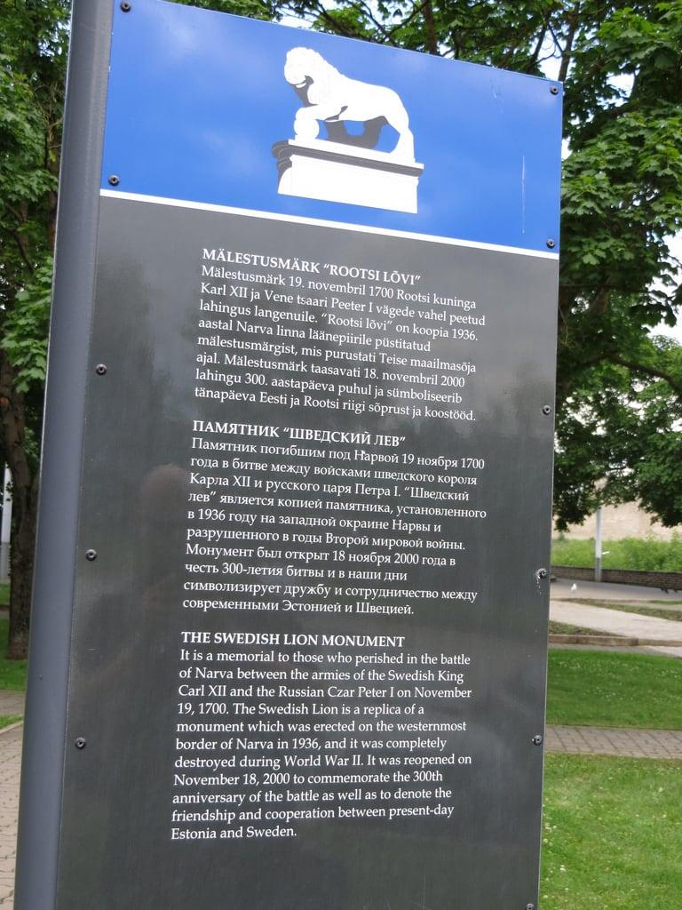 Image of Russian War Memorial. estonia estland narva theswedishlionmonument swedishlionmonument