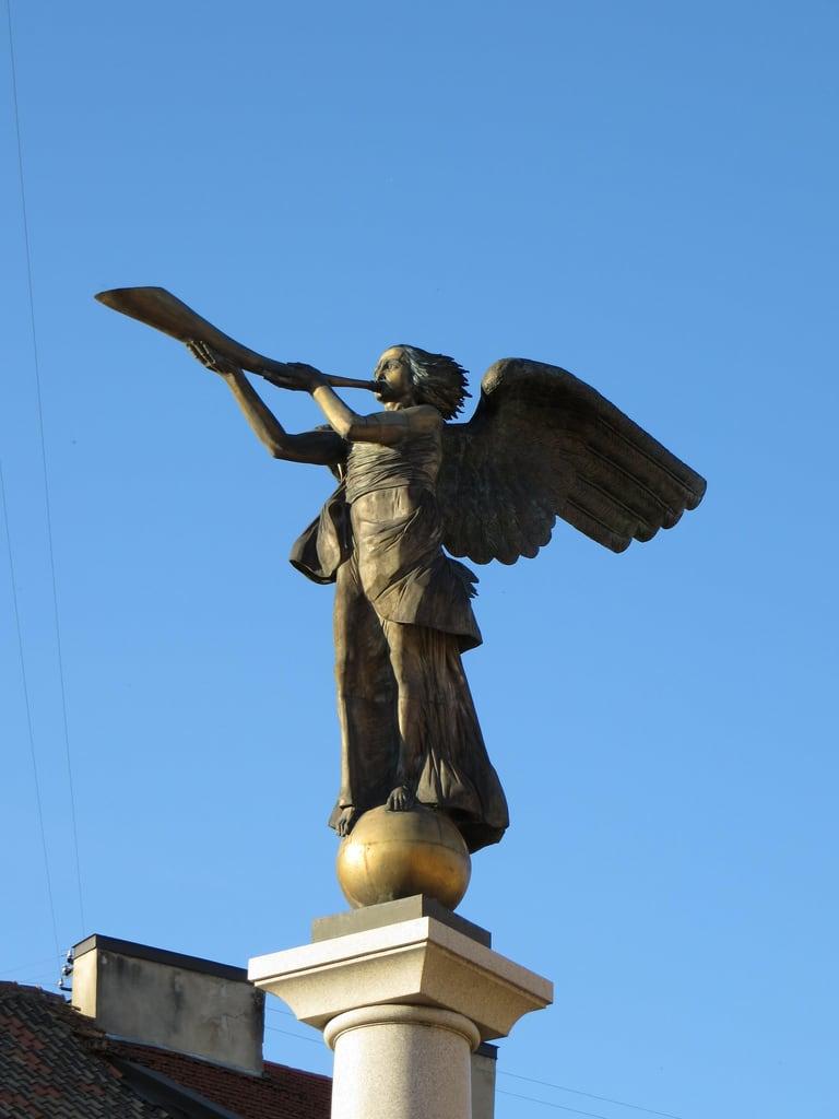 Image of Angel of Užupis. lithuania vilnius uzupis uzupisangel