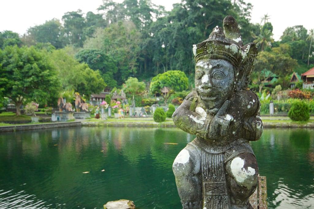 Εικόνα από Tirtagangga. bali water statue indonesia geotagged palace tirtagangga