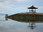 Zdjęcie:   Indonezja  Bali  Nusa Dua  (bali, połowów, odbicie)