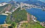Zdjęcie:   Brazylia  Rio de Janeiro  Copacabana  (widok z góry głowa cukru, urca hill, rio)