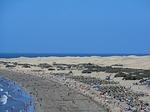 Zdjęcie:   Hiszpania  Wyspy Kanaryjskie  Gran Canaria  Puerto Rico  (maspalomas, plaży, wydmy)