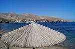 Zdjęcie:   Grecja  Kos  Kos Town  (morze, parasol, reed)