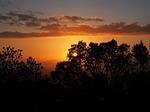 Zdjęcie:   Hiszpania  Baleary  Majorka  Cales de Mallorca  (chmury, niebo, zachód słońca)
