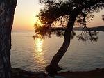 Zdjęcie:   Grecja  Thassos  Pefkari  (grecja, thassos, zachód słońca)